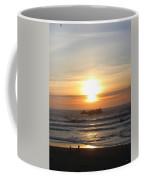 Kite Flying At Sundown Coffee Mug