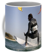 Kitesurfing Board Coffee Mug