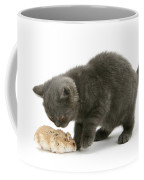 Kitten And Hamster Coffee Mug