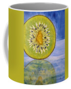 Kiwi Reflection Coffee Mug