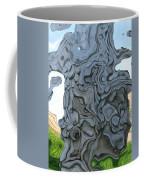 Knarly Tree Abstract Coffee Mug