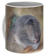 Koala Sleeping Coffee Mug by Betty LaRue