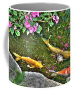 Koi Fish Poses Coffee Mug