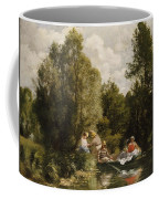 La Mare Aux Fees Coffee Mug by Pierre Auguste Renoir
