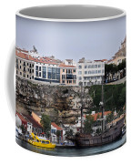 A Galleon At Bottom Of Port Mahon Menorca One Of The Largest Natural Harbours In The World Coffee Mug