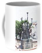 La Rogativa Sculpture Old San Juan Puerto Rico Colored Pencil Coffee Mug