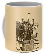 La Rogativa Sculpture Old San Juan Puerto Rico Rustic Coffee Mug