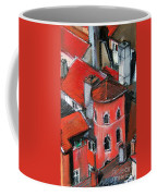 La Tour Rose In Lyon 2 Coffee Mug