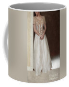 Lacy In Ecru Lace Gown Coffee Mug