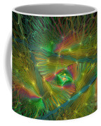 Lacy Rainbow Triangle Coffee Mug