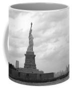 Lady And The Harbor Coffee Mug