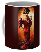 Lady In Red 33 Coffee Mug