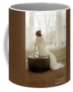 Lady In Sequin Gown Coffee Mug
