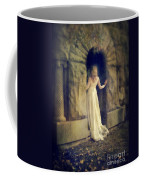 Lady In White Gown In Doorway Coffee Mug