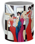 Lady Musicians Coffee Mug
