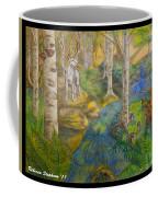 Lady Of The White Birch Coffee Mug