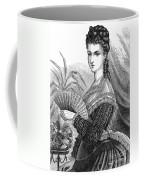 Lady With Fan, C1878 Coffee Mug