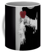 Lady With Heart Coffee Mug