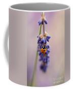 Ladybird And Lavender Coffee Mug