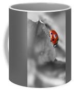 Ladybird On Leaf 1.0 Coffee Mug