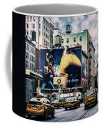 Lafayette And Houston Nyc Coffee Mug by Chris Lord