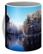 Lagan Meadows During Winter, Belfast Coffee Mug