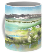 Lagoon In Spain Coffee Mug