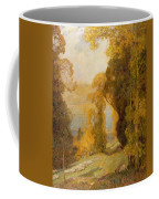 Lake Bourget From Mont Revard  Coffee Mug