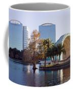 Lake Eola's  Classical Revival Amphitheater Coffee Mug by Lynn Palmer