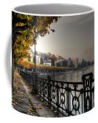 Lake Front With Autumn Trees Coffee Mug