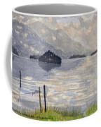 Lake Kilarney Ring Of Kerry Watercolour Painting Coffee Mug