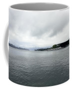 Lake Lucerne And Cruise Ships Berthed In Front Of Kkl Coffee Mug