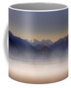 Lake Maggiore And Alps Coffee Mug by Joana Kruse