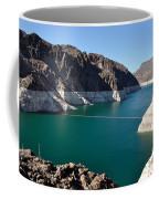 Lake Mead By Hoover Dam Coffee Mug