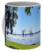 Lake Of The Black Stumps.. Tree Framed Coffee Mug