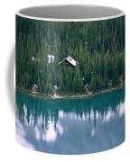 Lake Ohara Lodge And Cabins Coffee Mug by Michael Melford