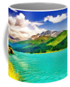 Lake Sils Coffee Mug