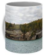 Lake Superior Pictured Rocks 45 Coffee Mug