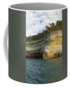 Lake Superior Pictured Rocks 8 Coffee Mug