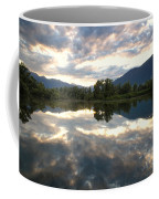 Lake With Clouds Coffee Mug