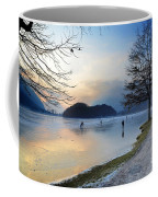 Lake With Ice Coffee Mug