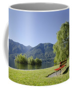 Lakefront With Mountain Coffee Mug