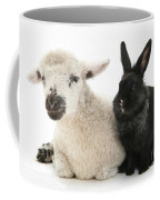 Lamb And Rabbit Coffee Mug