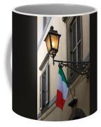 Lamp And Flag Coffee Mug