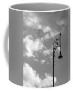 Lampost And Clouds In Wroclaw Poland Coffee Mug
