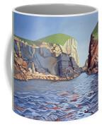 Land And Sea No I - Ramsey Island Coffee Mug