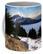 Land With A View Painterly Coffee Mug