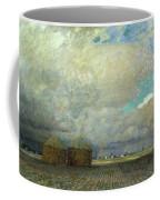Landscape With Huts Coffee Mug
