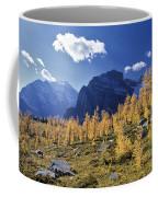 Larch Trees From The Saddleback Trail Coffee Mug