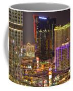 Las Vegas Nevada Coffee Mug by Nicholas  Grunas